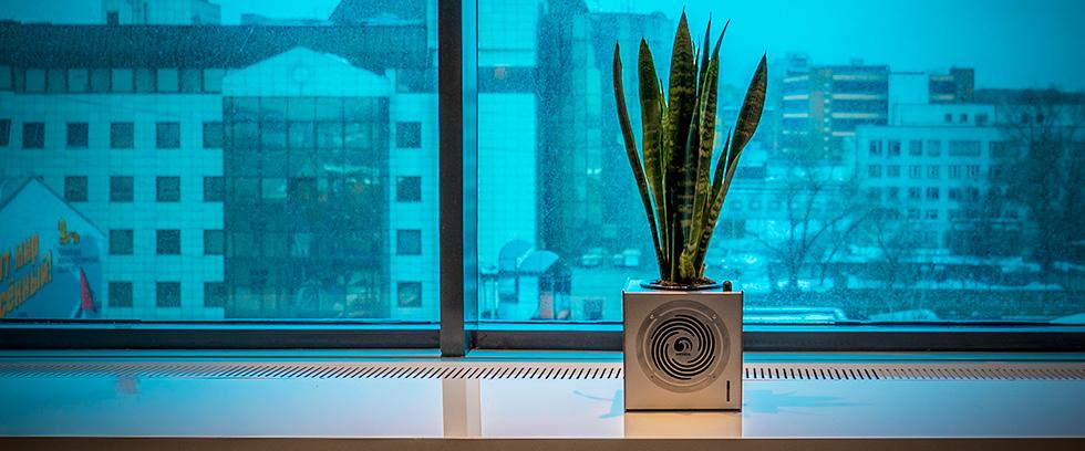 AIRYBOX очищение воздуха в офисе